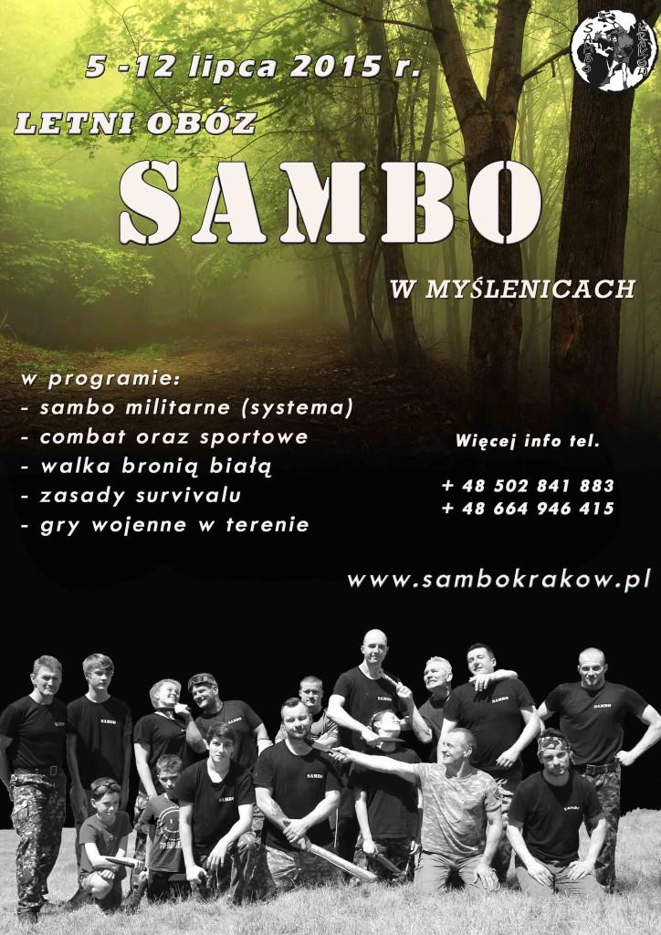 Obóz SAMBO 2015 Myślenice